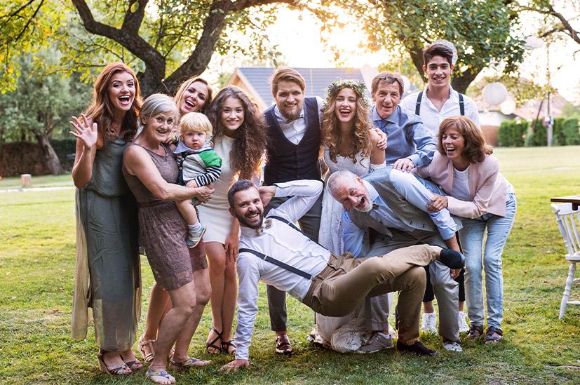 Familienfotos als Erinnerung