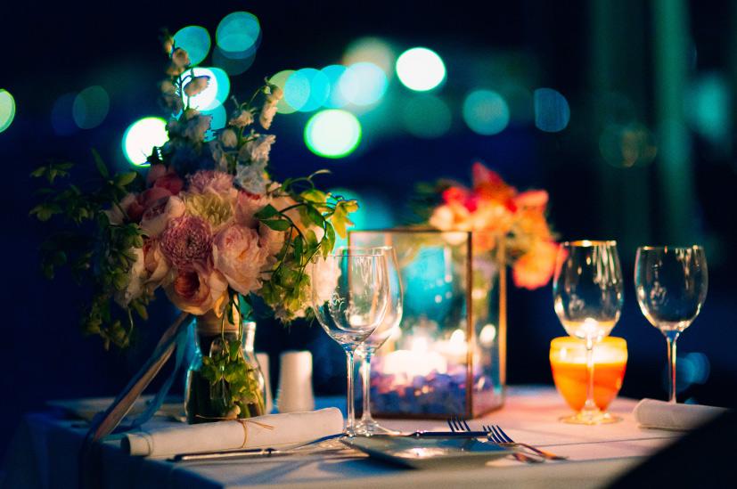 Valentinstag Tischdeko