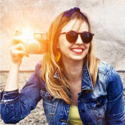 Portraitfotografie Blitz